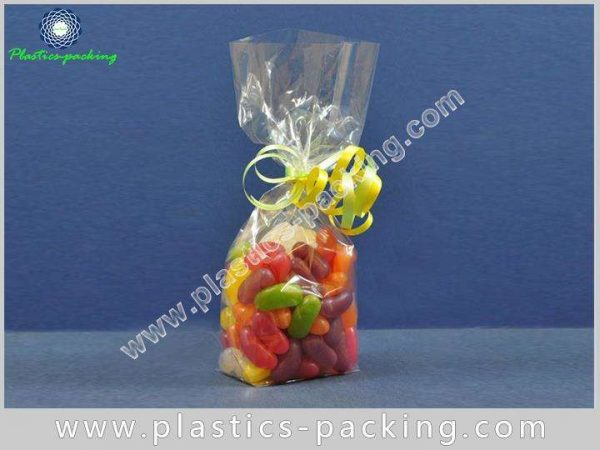 Chocolate Bar Square Bottom Cellophane Bag OPP Glue 655 1