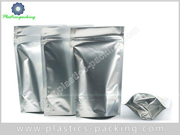 Chocolate Storing Ziplock Stand Up Pouches Matte 0194
