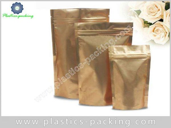 Chocolate Storing Ziplock Stand Up Pouches Matte 0195