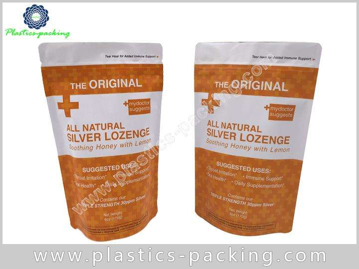 Clear Front Aluminum Foil Back ZipLock Bags Manufac 580