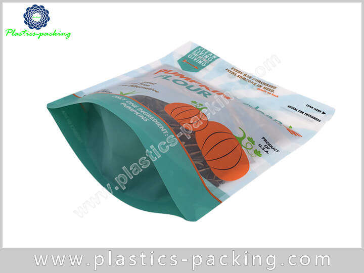 Clear Front Back Heat Sealable Zip Lock Manufacture 573
