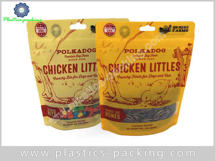 Clear Mylar Stand Up Pouches With Zipper Manufactur 566