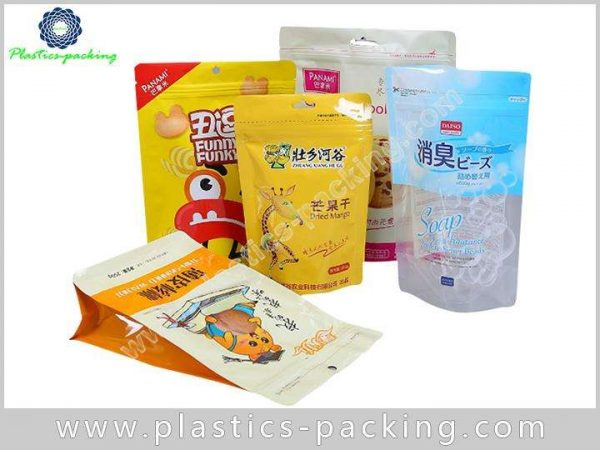 Clear Stand Up Zipper Food Bags Manufacturers and y 0213