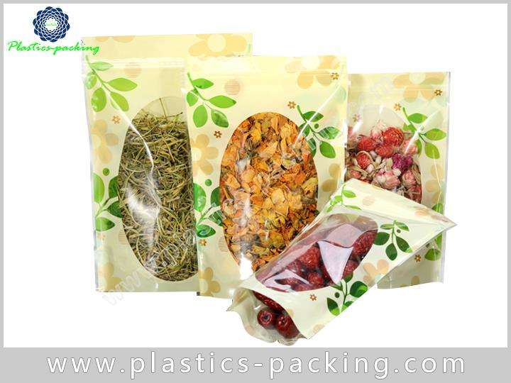 Clear Window Zipper Food Packaging Bags Manufacturers yyth 552