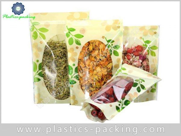 Clear Window Zipper Food Packaging Bags Manufacturers yyth 553