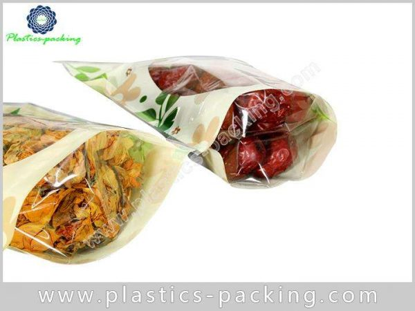 Clear Window Zipper Food Packaging Bags Manufacturers yyth 554