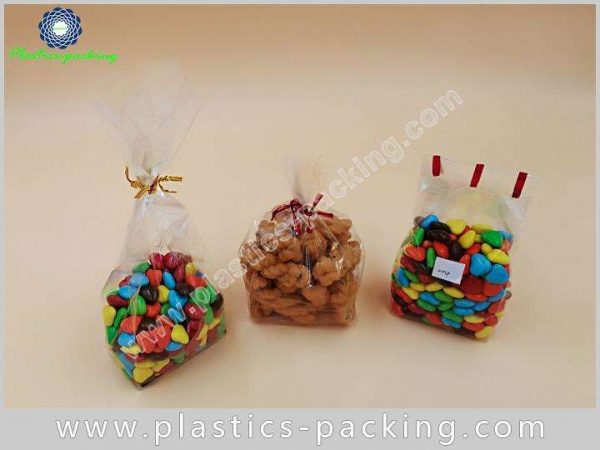 Crystal Clear Gusseted OPP Cellophane Bag Manufacturers yy 589 1