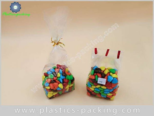 Crystal Clear Gusseted OPP Cellophane Bag Manufacturers yy 591 1
