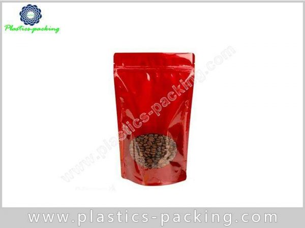 Custom Foil Stand Up Pouches Zipper Top SuperFood y 0271