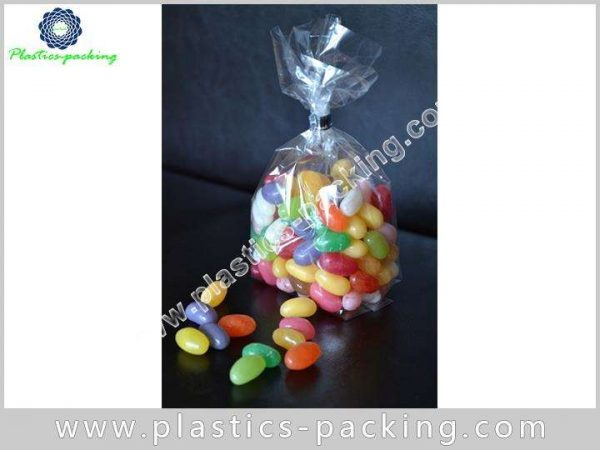 Custom Plastic Clear Cellophane Gift Bags 40Micron 542 1