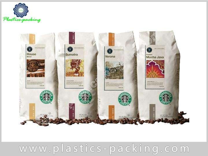 Custom Printed Side Gusset Coffee Bags with One yyt 473