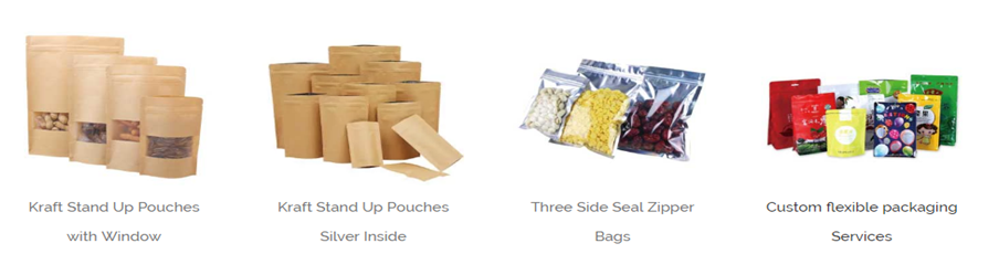 Custom Printed Stand Up Ziplock Bags Manufacturers 0324