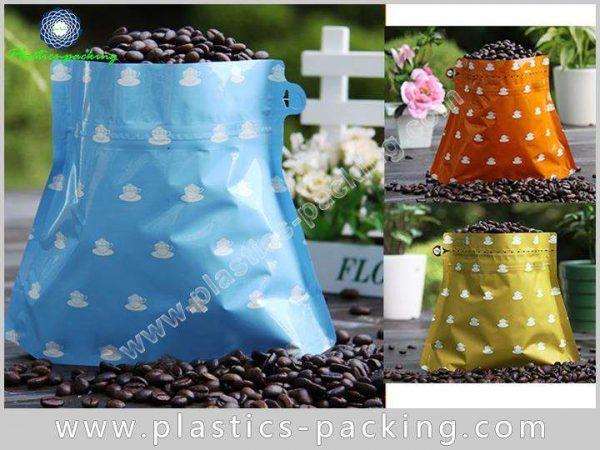 Custom Printed Wholesale Stand Up Zipper Coffee Bag 463