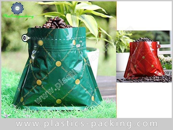 Custom Printed Wholesale Stand Up Zipper Coffee Bag 464
