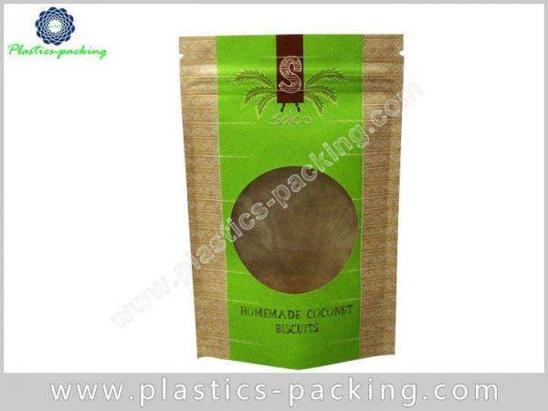 Custom Printing Kraft Paper Zipper Pouch Manufacturers yyt 190