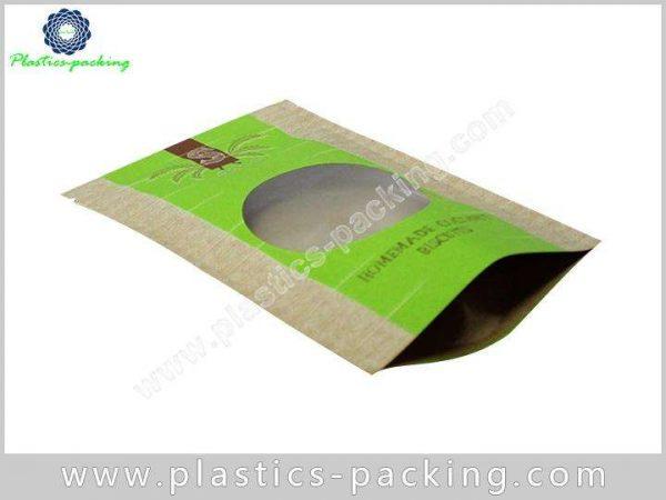Custom Printing Kraft Paper Zipper Pouch Manufacturers yyt 191