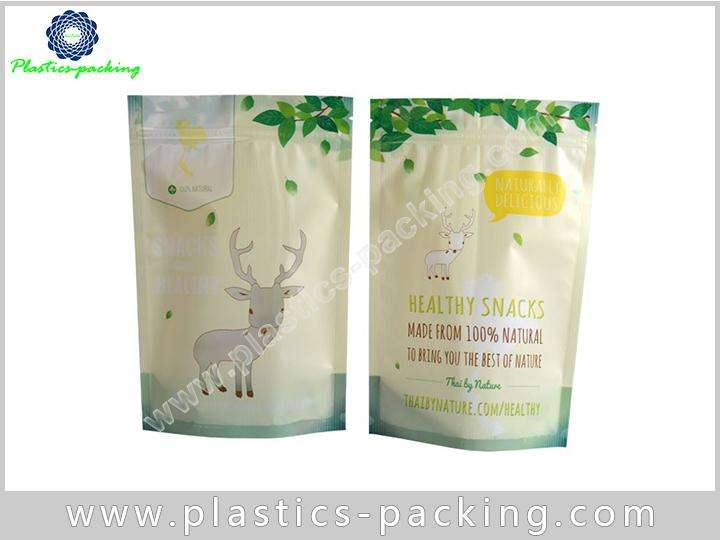 Custom Ziplock Stand Up Pouches Clear Window yyth 0351