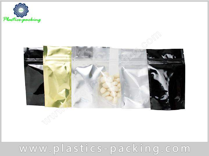 Customized Foil Material Ziplock Bag Stand Up Pouch 0380