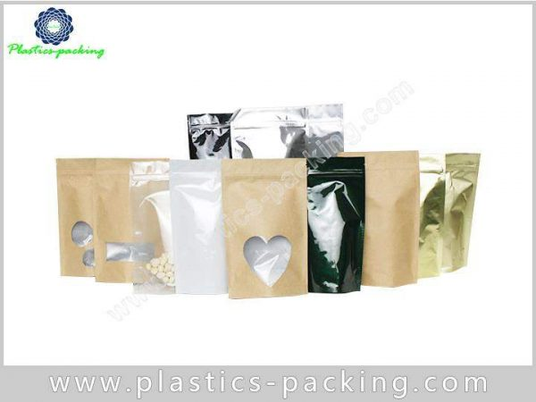 Customized Foil Material Ziplock Bag Stand Up Pouch 0382