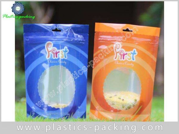 Customized Printed Stand Up Food Pouches Zipper Foo 0391