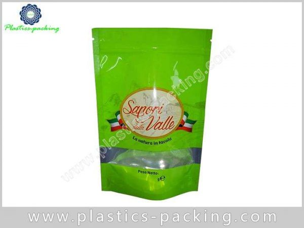 Customized Printed Stand Up Food Pouches Zipper Foo 0393