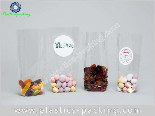 Disposable OPP Block Bottom Bag with Side Gusset yy 510 1
