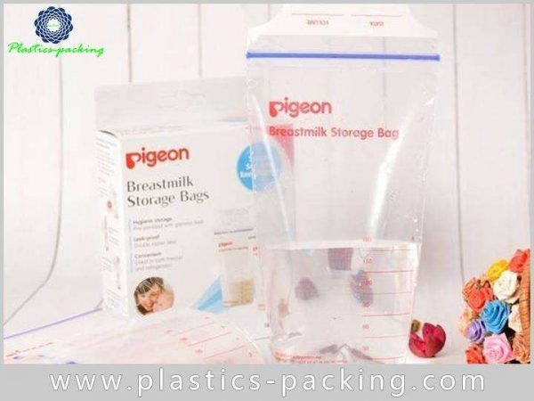 Double Zipper BreastMilk Bags Manufacturers and Suppliers 119