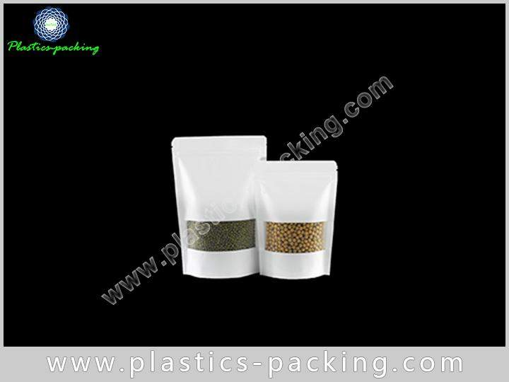 Doypack Kraft Paper Ziplock Bags 200g Laminated Kra 168