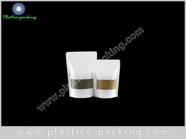 Doypack Kraft Paper Ziplock Bags 200g Laminated Kra 169