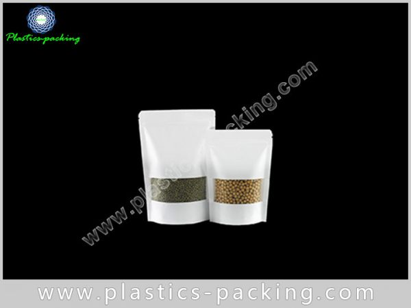 Doypack Kraft Paper Ziplock Bags 200g Laminated Kra 170