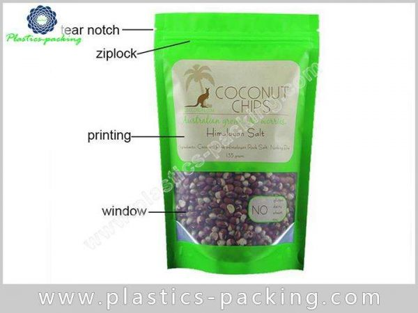 Doypack Stand Up Zipper Pouches Manufacturers and S 0411