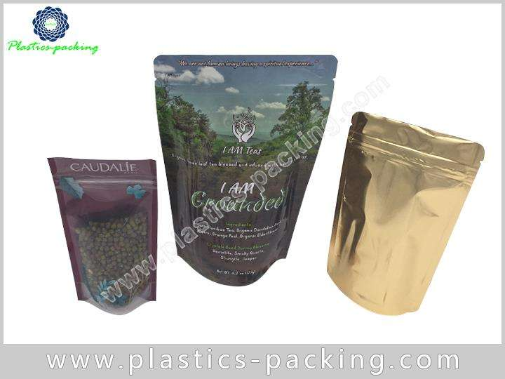 Dried Food Packaging Ziplock Bags Stand up Pouch yy 0414
