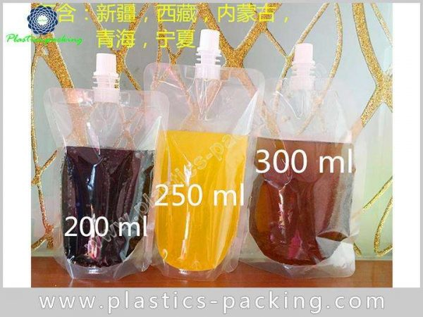 Drinking Water Customized Spout Pouch 250ML Custom 371