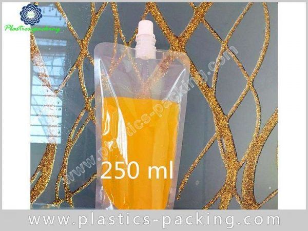 Drinking Water Customized Spout Pouch 250ML Custom 372