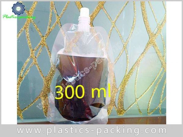 Drinking Water Customized Spout Pouch 250ML Custom 373