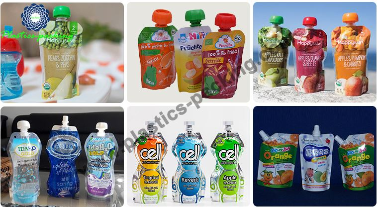 Eco Friendly Spout Pouch For Liquid Packaging Manuf 336