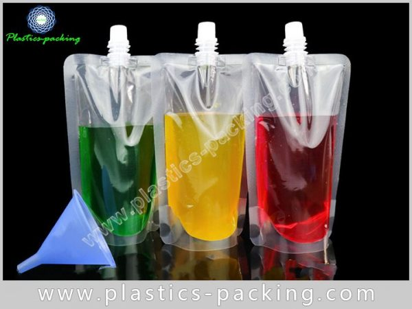 Eco Friendly Spout Pouch For Liquid Packaging Manuf 338