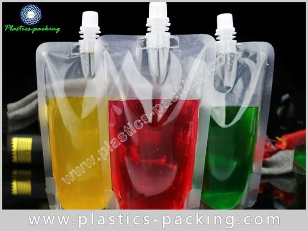 Eco Friendly Spout Pouch For Liquid Packaging Manuf 340