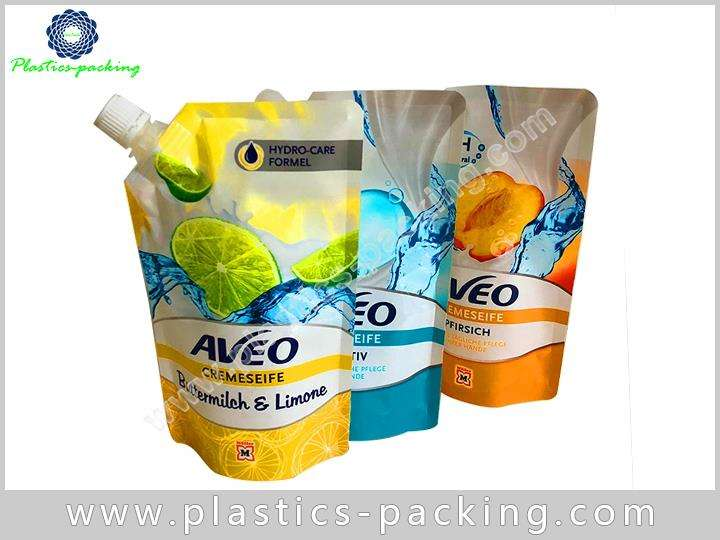 Eco friendly Stand Up Beverage Liquid Pouch Manufacturers 358