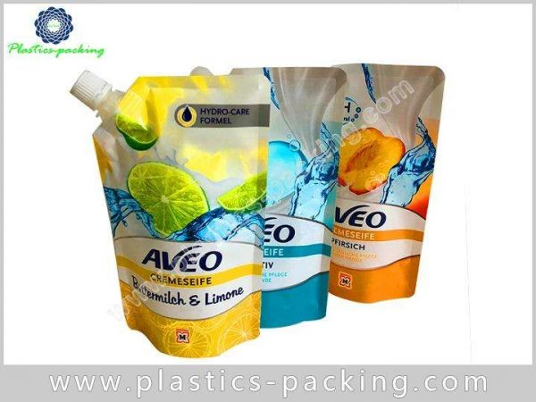 Eco friendly Stand Up Beverage Liquid Pouch Manufacturers 360
