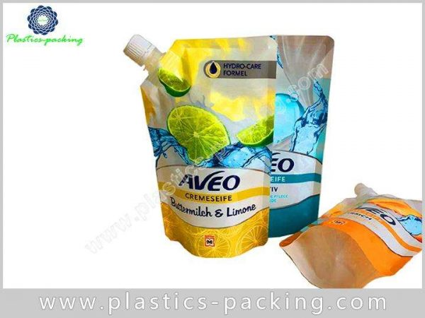 Eco friendly Stand Up Beverage Liquid Pouch Manufacturers 361