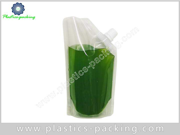 FDA Approval Eco Stand Up Beverage Liquid Packaging 352