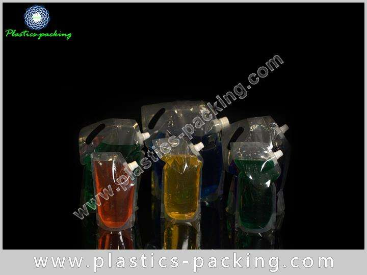 FDA Approval Eco Stand Up Beverage Liquid Packaging 353