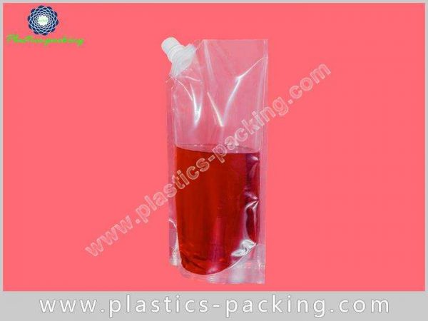 FDA Approval Eco Stand Up Beverage Liquid Packaging 354