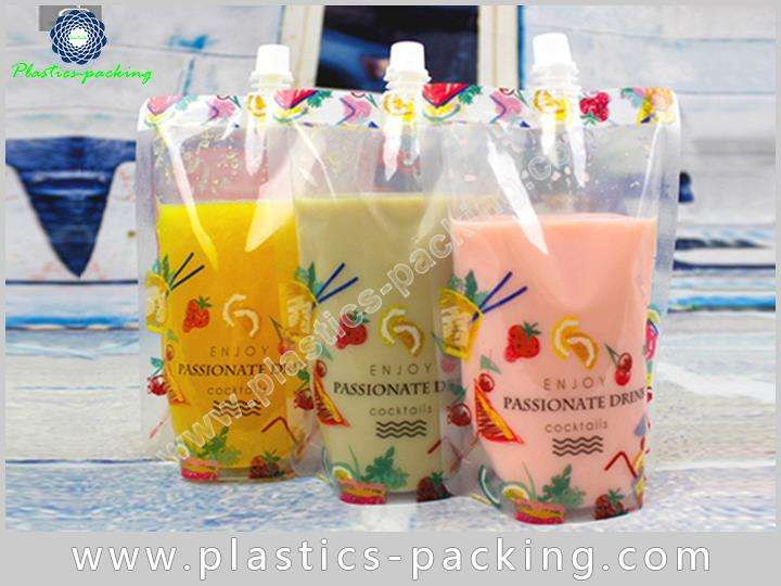 Flexible Packaging Spout Pouch Container Manufacturers and 317