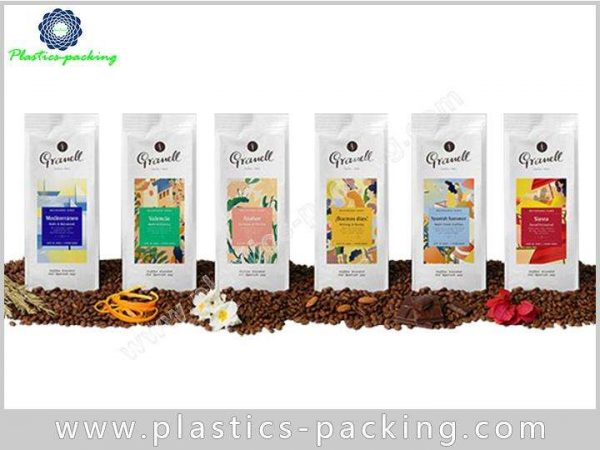 Flexible Packaging for 150g Coffee and Tea Pouch yy 438