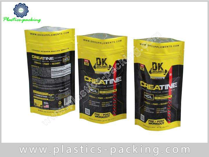 Flexible Plastic Packaging Stand Up Food Bag Custom 0460