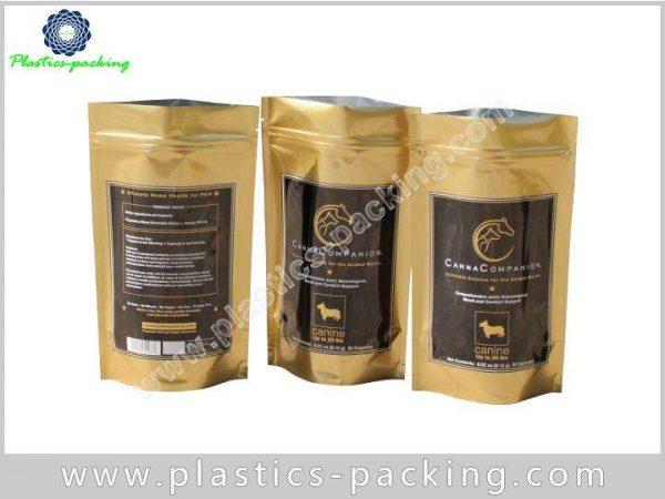 Flexible Plastic Packaging Stand Up Food Bag Custom 0461