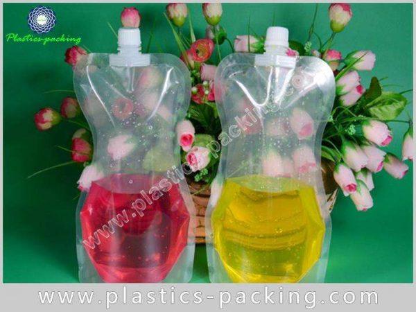 Flexible Printing Lamination Liquid Packaging Spout Bag yy 323