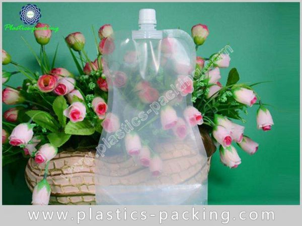 Flexible Printing Lamination Liquid Packaging Spout Bag yy 324